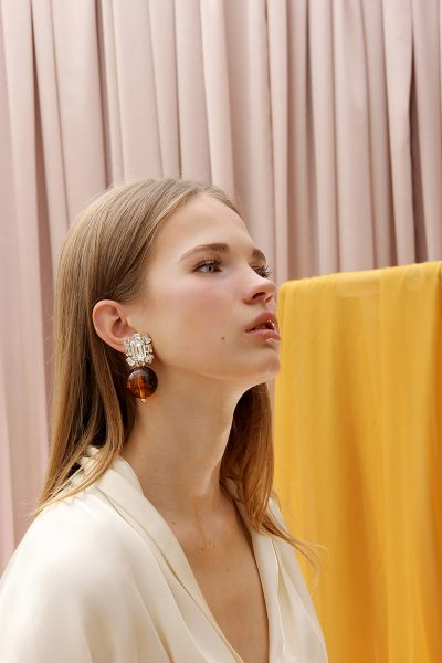 The Castellorizo Lucite Drops Earrings