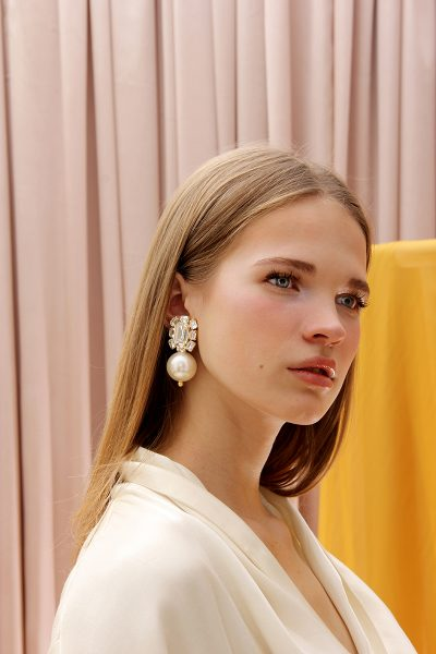 The Castellorizo Pearl Drops Earrings