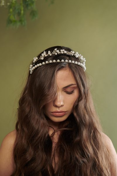 Under The Olive Tree 2 Silver Headpiece