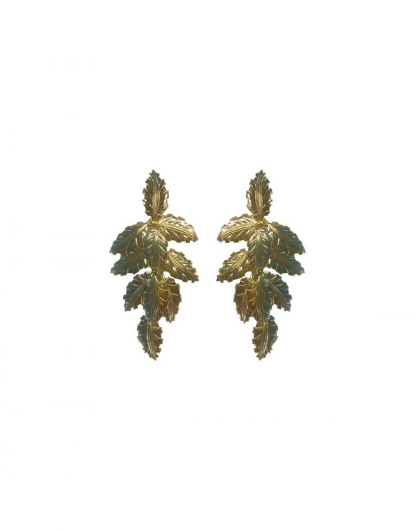 Arabian Leaves Earrings