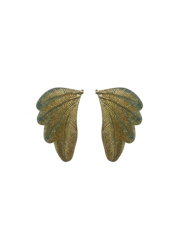 Palm Wing Earrings