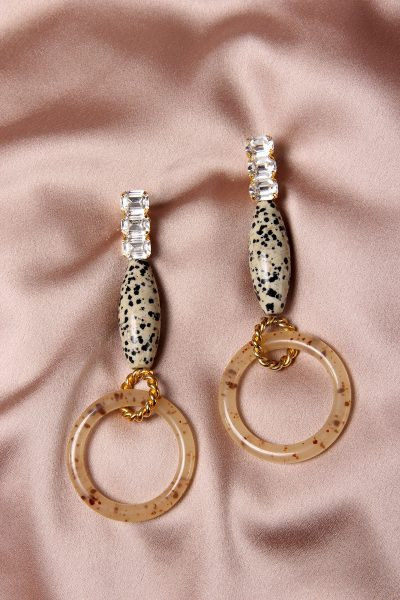 The Marble Earrings