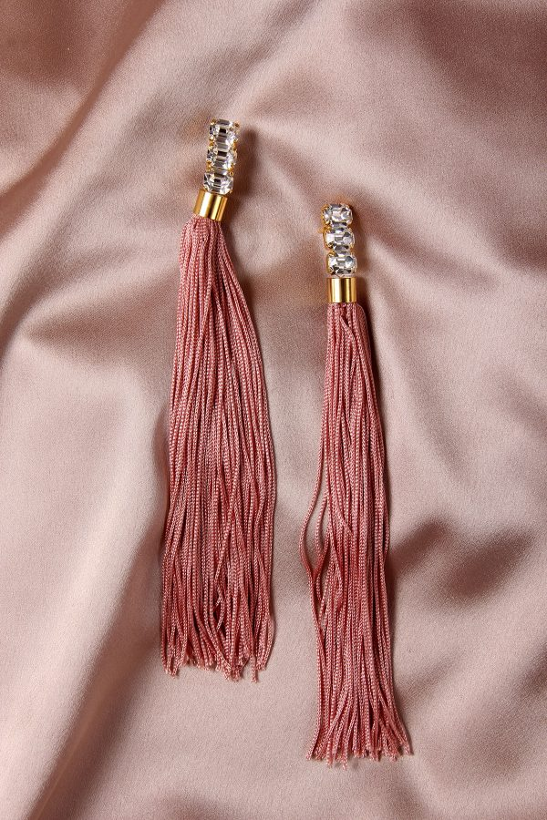 The Weeping Soil Pink Earrings