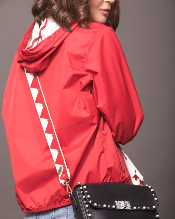 Studded Red Strap