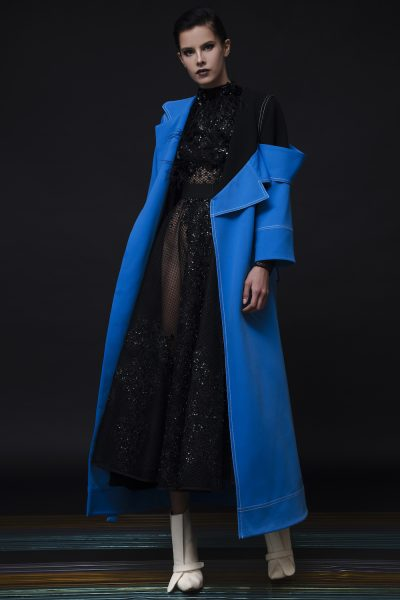 Black & Blue Coat