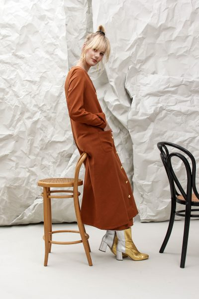 The Lula Brown Coat
