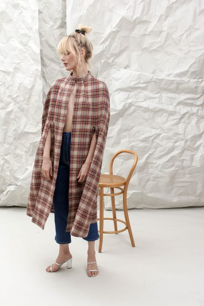 The Bolero Brown Cape