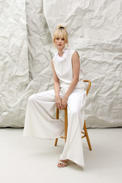The Mary White Pant