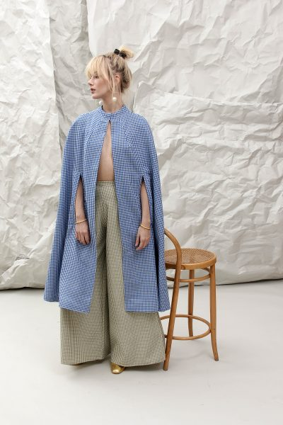 The Bolero Blue Cape