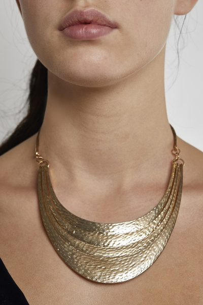 African Necklace Gold-Plated