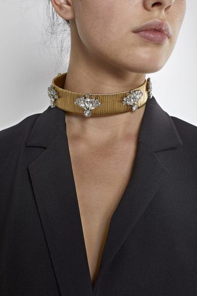 THE DOUMA BEJEWELED CHOKER