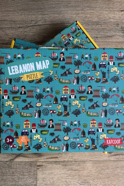 Lebanon Map Puzzle