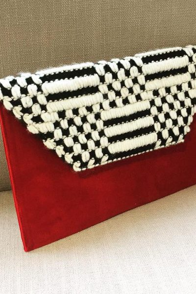 Slim Clutch – Red Velvet