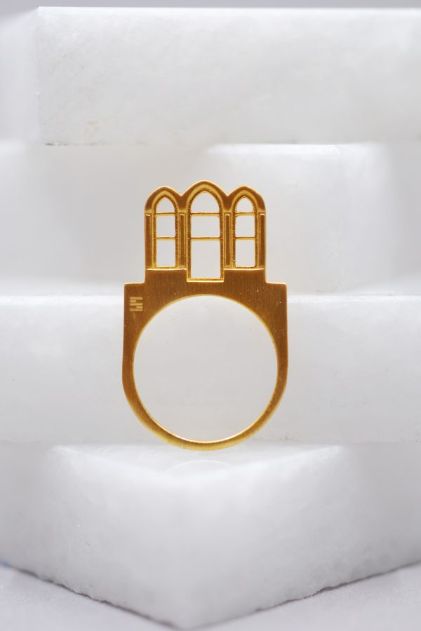 Triple Arch Ring