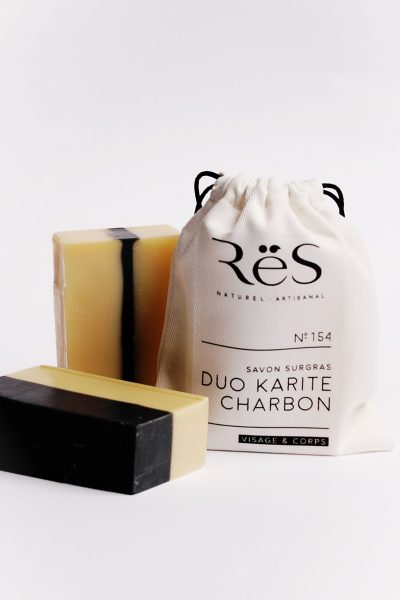 No.154 Shea Butter + Charcoal Duo – Moisturizing and Purifying