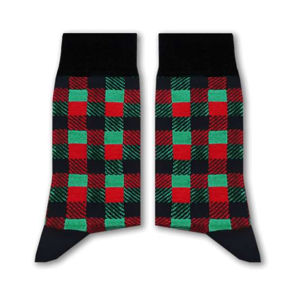 Mixed Checkered Socks