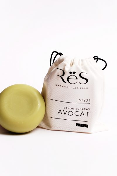 No.201 Creamy Avocado Facial Bar – Anti-aging and Nourishing