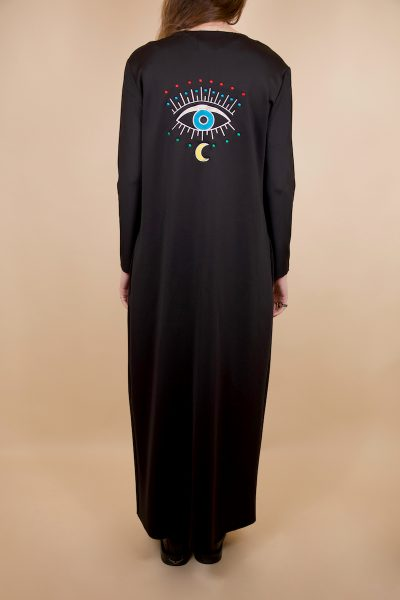Black Eye Abaya