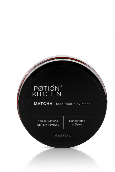 Matcha Face Food Clay Mask – 50g