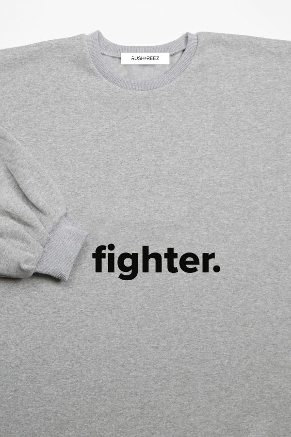 The Fighter Top Heather Grey