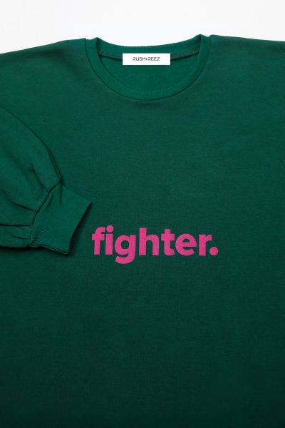 The Fighter Top Emerald