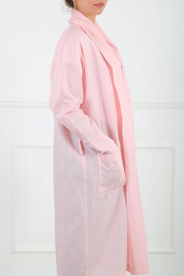 Ray Linen Pink Cardigan