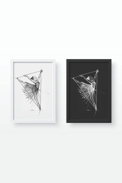 The Ballerina – Two Prints for Sale
