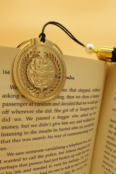 25 Piastres Coin Bookmark – Replica 1968