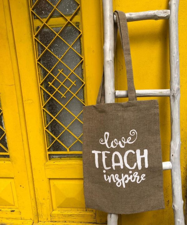 Love Teach Inspire Tote Bag