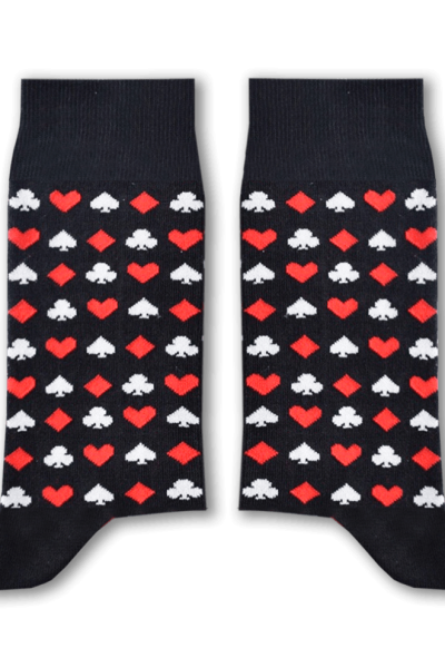 Cards (Black) Socks