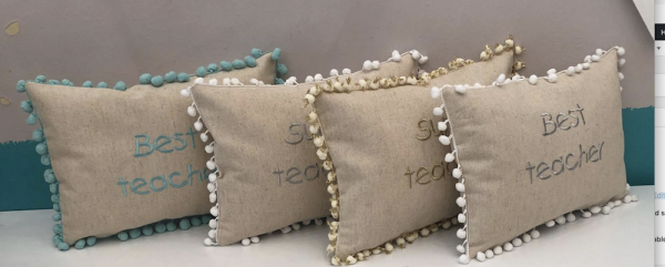 Teacher Pillow Gift