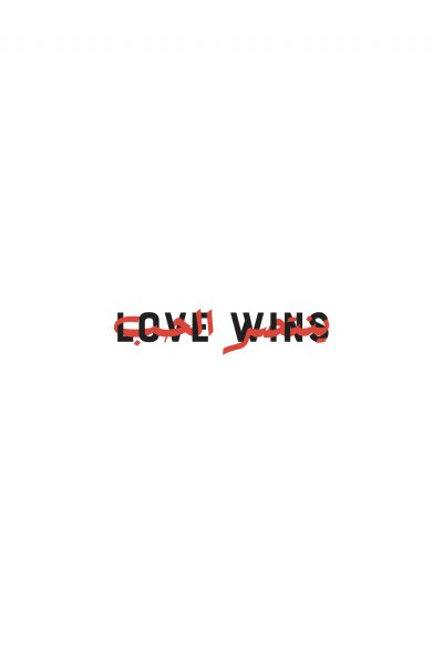 'LOVE WINS' Designed By The Little Pink Cactus – Produced by TMC
