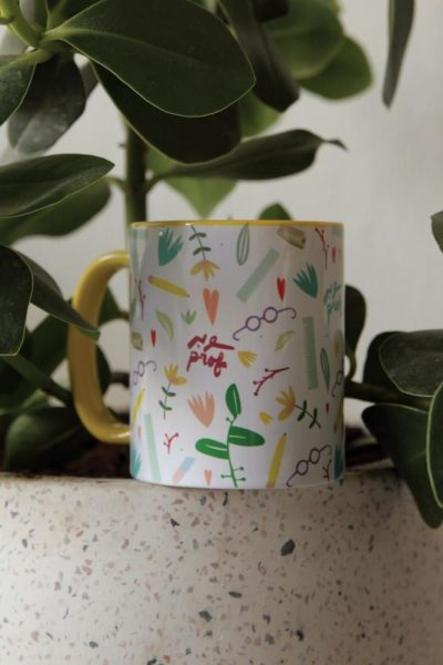 Mug Super Prof Pattern