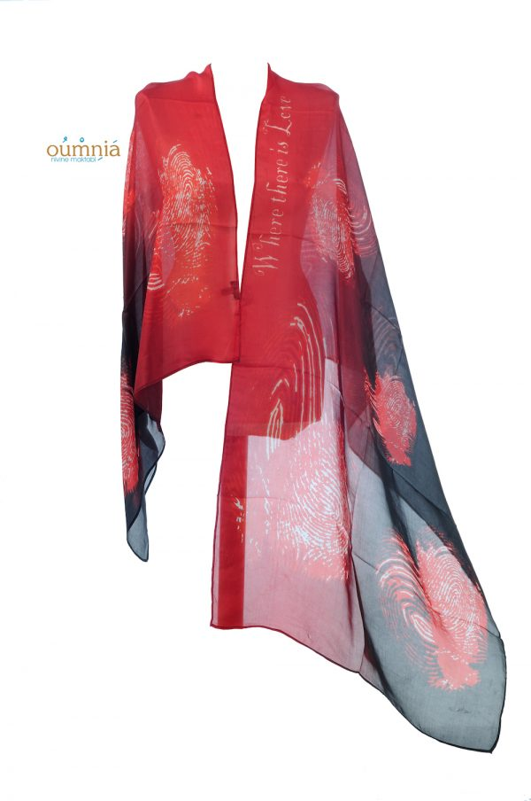 Where There Is Love There Is Life Shawl