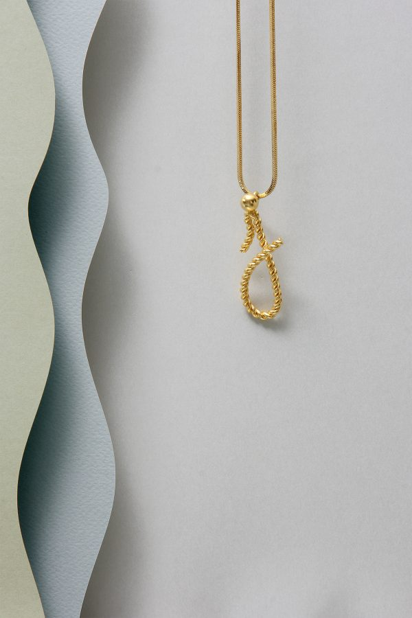 THE INITIAL J NECKLACE