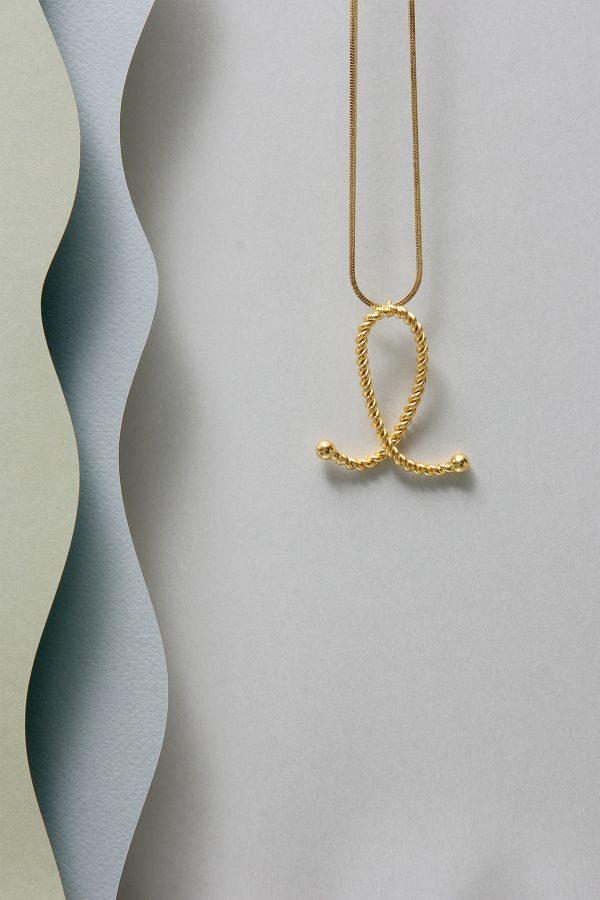 THE INITIAL L NECKLACE