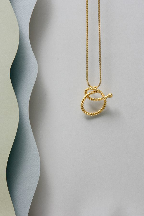 THE INITIAL O NECKLACE
