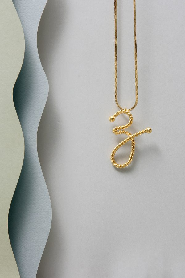 THE INITIAL Z NECKLACE