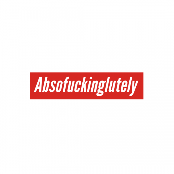 Absolutely Sticker , Three Monkeys Concepts
