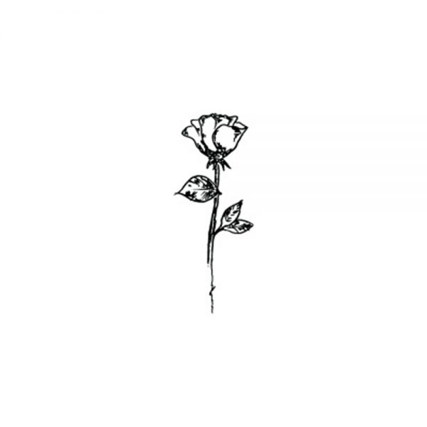 Black Rose Sticker