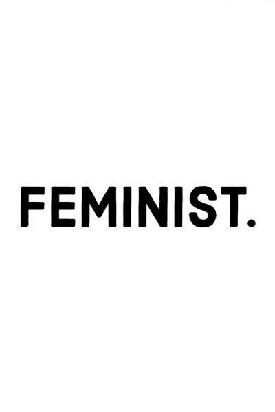 Feminist Sticker , Three Monkeys Concepts