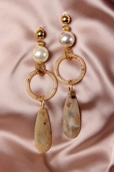 THE MARCHE TURQUE MAXI EARRINGS