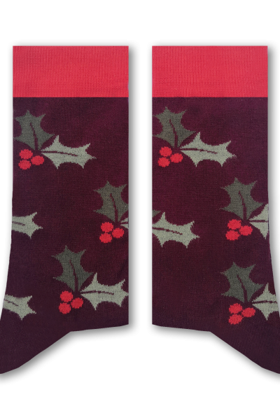 Mistletoe Adult Socks