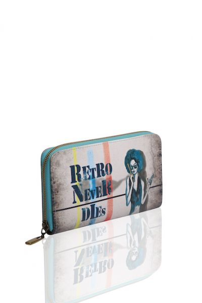 Printed Wallet – Retro Never Dies