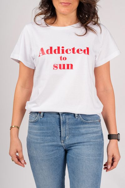 ADDICTED T-SHIRT TO SUN