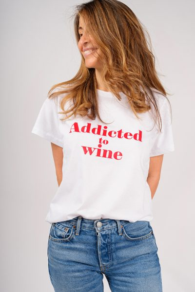 ADDICTED T-SHIRT TO WINE