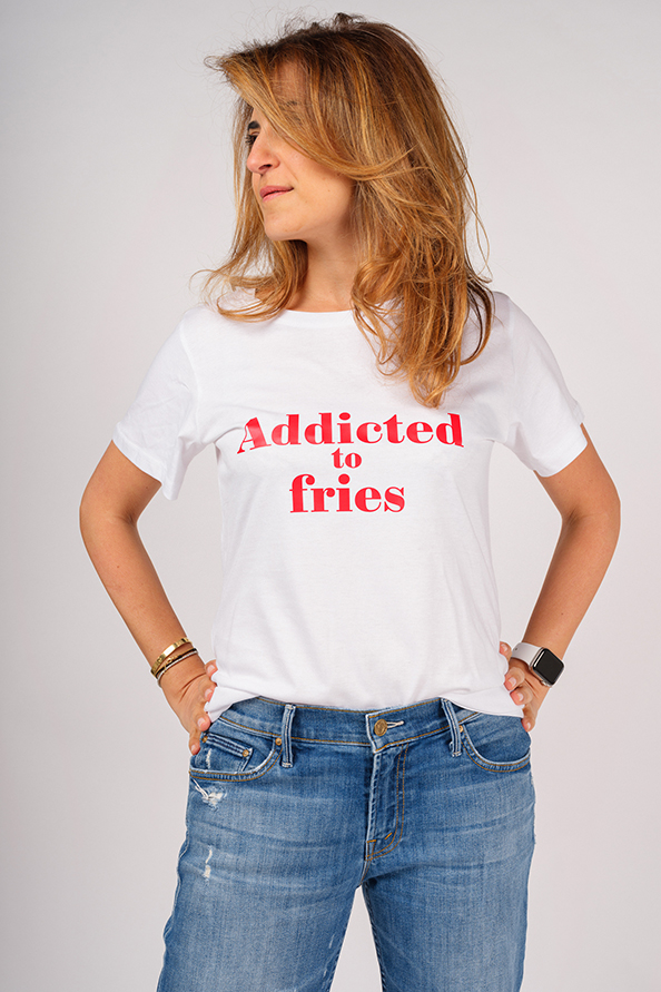 ADDICTED T-SHIRT TO FRIES