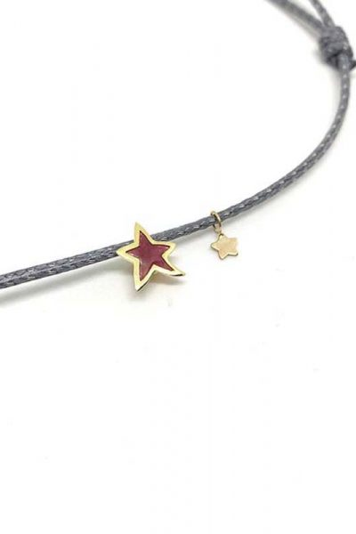 NECKLACE CHOKER SPARKLY STAR