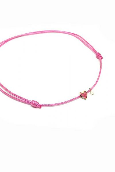 NECKLACE CHOKER SPARKLY HEART