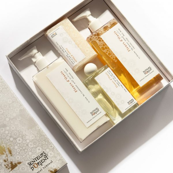 The Hair & Body Gift Set – The Shower, The Conditioner, The Oil, The Soap